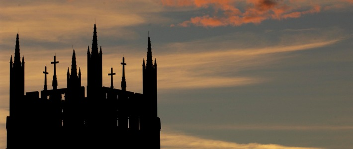 Sunset-over-Holy-Name-Church