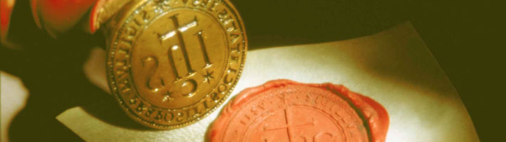 Jesuit Wax Seal